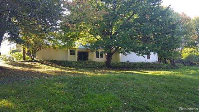 3169 N Tipsico Lake Road, Hartland Twp, MI 48353 (#219116206) :: GK Real Estate Team
