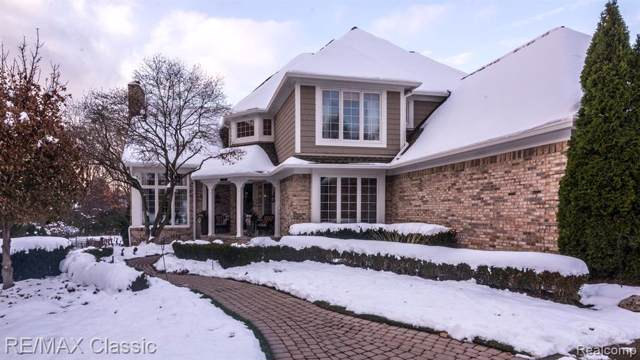 21183 Chase Drive, Novi, MI 48375 (#219116216) :: GK Real Estate Team