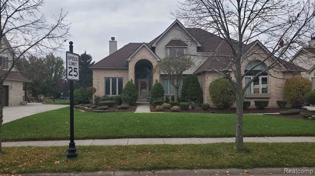 45491 Glengarry Boulevard, Canton Twp, MI 48188 (#219116352) :: Alan Brown Group
