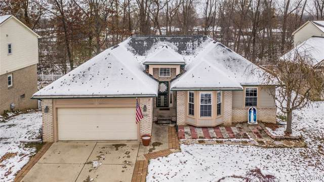 30120 Apple Grove Way, Flat Rock, MI 48134 (MLS #219116372) :: The Toth Team