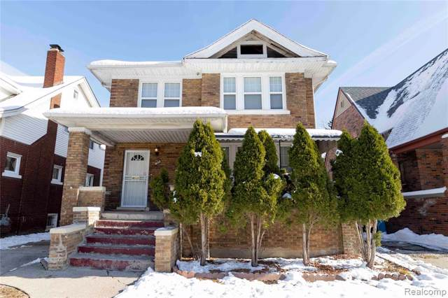672 Marlborough Street, Detroit, MI 48215 (#219116442) :: BestMichiganHouses.com