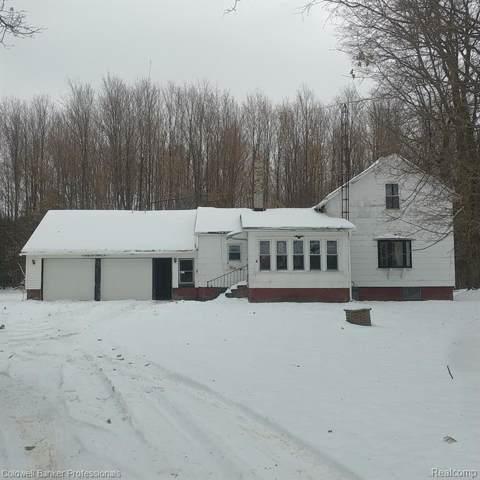 2132 N Five Lakes Road, Arcadia Twp, MI 48446 (#219116628) :: Team DeYonker