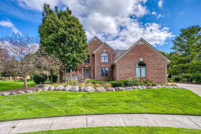 3580 Grandview Court, Shelby Twp, MI 48316 (#219116801) :: The Alex Nugent Team | Real Estate One
