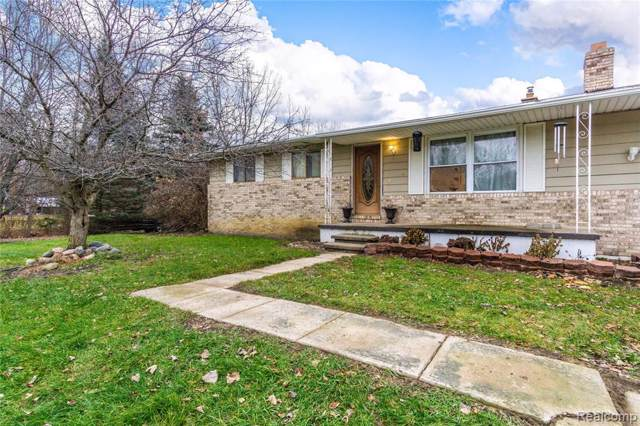 14304 Sheridan Road, Montrose Twp, MI 48457 (MLS #219117022) :: The John Wentworth Group