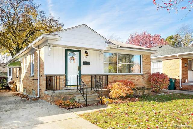 724 Wellesley Avenue, Royal Oak, MI 48067 (#219117092) :: The Alex Nugent Team | Real Estate One