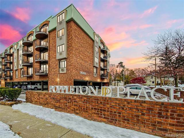 35300 Woodward Avenue #501, Birmingham, MI 48009 (#219117111) :: The Alex Nugent Team | Real Estate One
