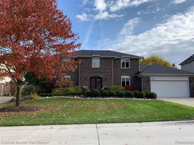 1989 Mapleridge Road, Rochester Hills, MI 48309 (#219117258) :: The Alex Nugent Team | Real Estate One