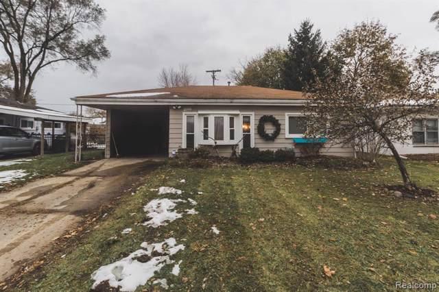 42032 Firwood Drive, Plymouth Twp, MI 48170 (#219117305) :: GK Real Estate Team