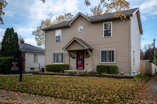 223 Midland Boulevard, Royal Oak, MI 48073 (#219117539) :: The Buckley Jolley Real Estate Team