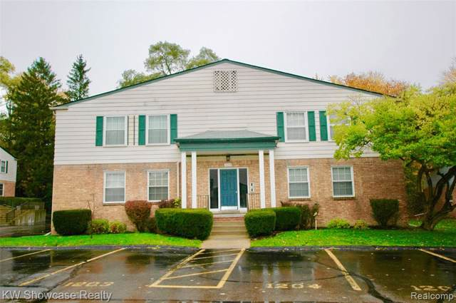 529 E University Drive #1203, Rochester, MI 48307 (#219117606) :: The Alex Nugent Team | Real Estate One