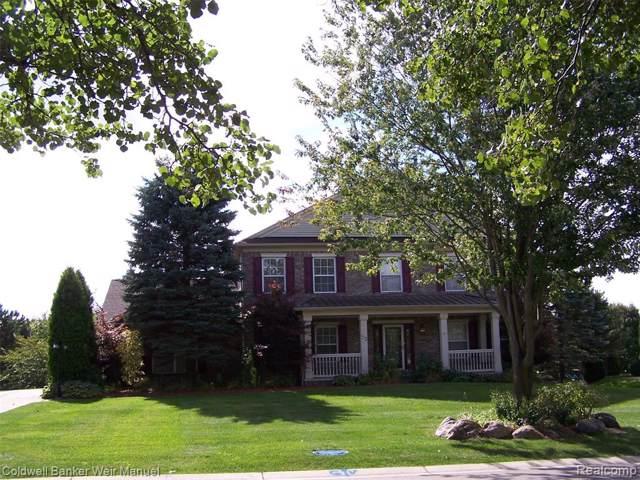 33 Oakbridge Drive, Oakland Twp, MI 48306 (#219117649) :: The Alex Nugent Team | Real Estate One