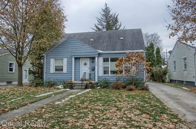 1208 Millard Avenue, Royal Oak, MI 48073 (#219117654) :: The Alex Nugent Team | Real Estate One