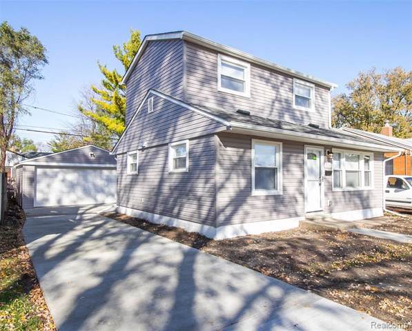 336 W Lincoln Avenue, Madison Heights, MI 48071 (#219117717) :: The Alex Nugent Team | Real Estate One