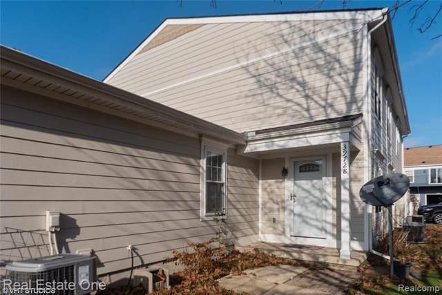 39728 Village Wood Circle, Novi, MI 48375 (#219117859) :: The Alex Nugent Team | Real Estate One