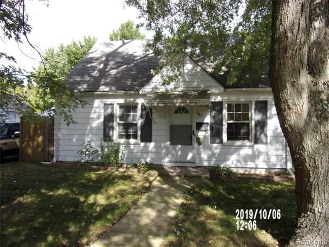 797 2nd Avenue, Pontiac, MI 48340 (#219117921) :: The Alex Nugent Team   Real Estate One
