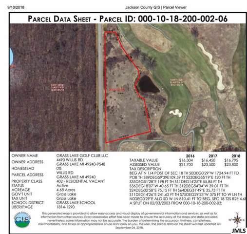List Rd, Grass Lake, MI 49240 (MLS #55201904282) :: The Toth Team