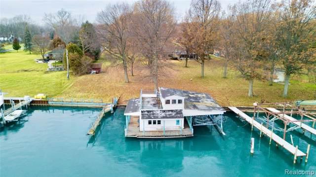 27115 E River, Grosse Ile Twp, MI 48138 (#219118311) :: The Buckley Jolley Real Estate Team