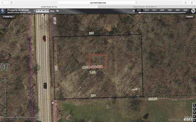 North Avenue, Ray Twp, MI 48096 (#58050000837) :: GK Real Estate Team