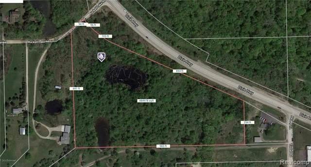 0000 Dixie Hwy & Buckell Lake Road, Groveland Twp, MI 48442 (MLS #219119182) :: The John Wentworth Group