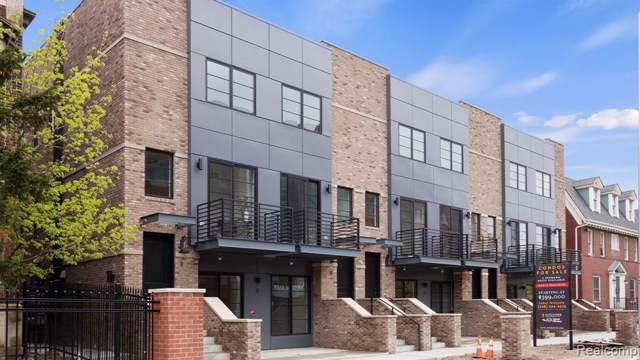 262 Mack #6, Detroit, MI 48201 (#219119211) :: The Buckley Jolley Real Estate Team