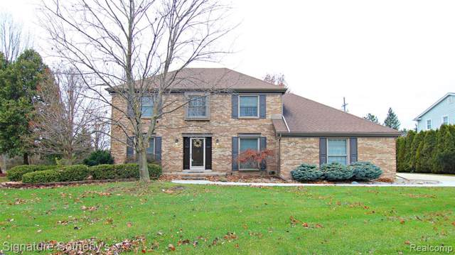 10273 Red Maple Dr, Plymouth, MI 48170 (#219119353) :: GK Real Estate Team
