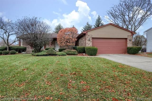 24473 Bonnie Brook Drive, Novi, MI 48374 (#219119667) :: The Alex Nugent Team | Real Estate One