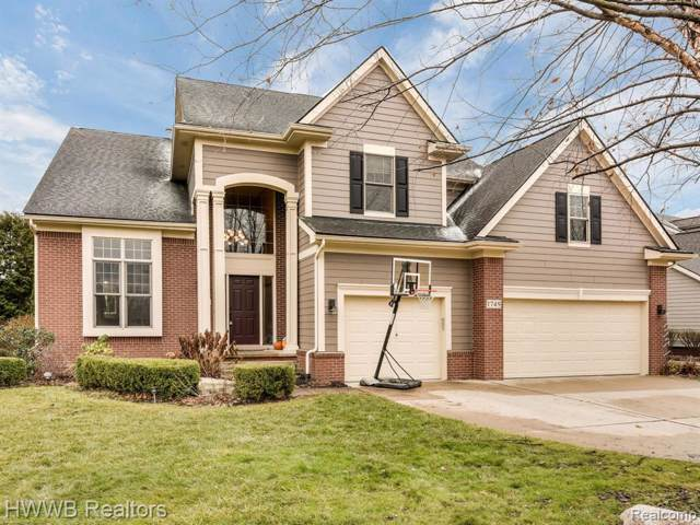 1749 Cheshire Lane, Commerce Twp, MI 48382 (#219119828) :: Alan Brown Group