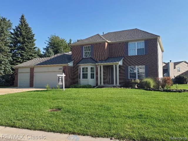 405 Austin Street, Commerce Twp, MI 48382 (#219119868) :: Alan Brown Group