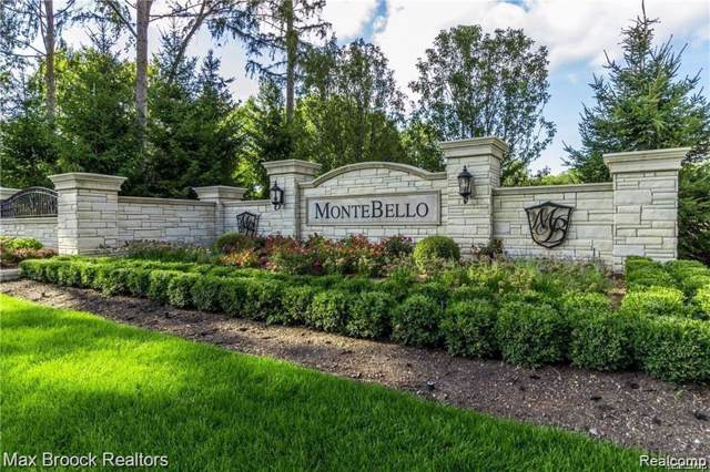 22549 Montebello Court, Novi, MI 48374 (#219119876) :: Keller Williams West Bloomfield
