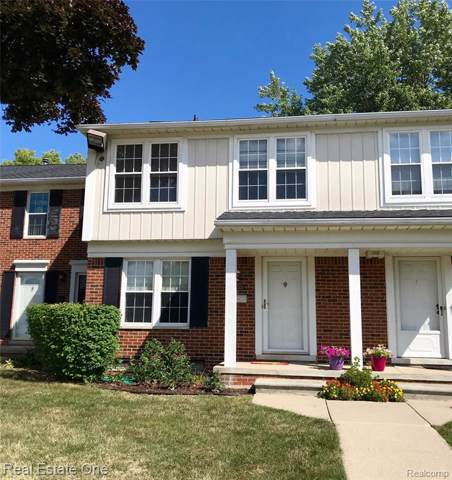 36504 Park Place Drive #92, Sterling Heights, MI 48310 (#219120155) :: Alan Brown Group