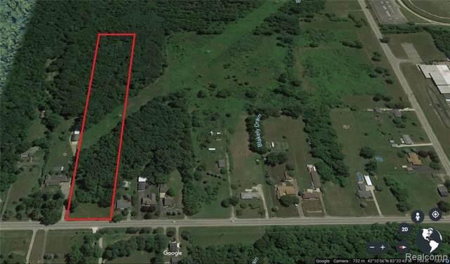 VACANT Huron River Dr Drive, Romulus, MI 48174 (#219120237) :: GK Real Estate Team