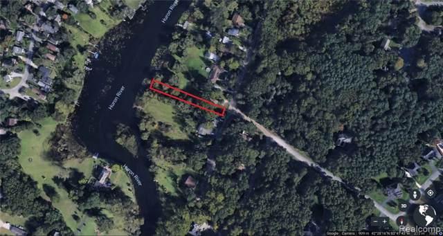 VACANT River Valley Road, Hamburg Twp, MI 48116 (#219120246) :: The Mulvihill Group