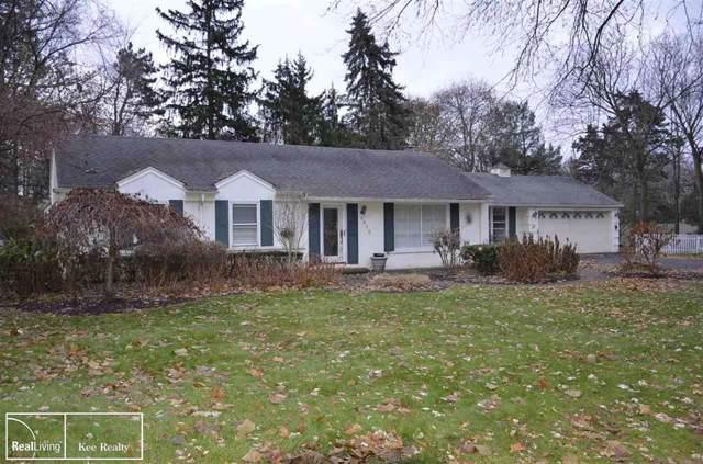 6485 Thurber Rd, Bloomfield Hills, MI 48301 (#58050001329) :: Keller Williams West Bloomfield