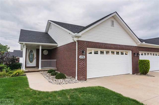 476 Newcastle, Romeo Vlg, MI 48065 (#58050001334) :: The Mulvihill Group