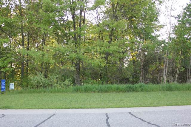 100 Persimmon Drive, Brandon Twp, MI 48371 (#219120587) :: The Mulvihill Group