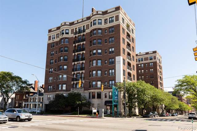 2900 E Jefferson Avenue D400, Detroit, MI 48207 (#219120691) :: The Buckley Jolley Real Estate Team