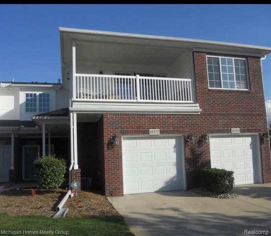 14377 Moravian Manor Cir, Sterling Heights, MI 48312 (MLS #219120773) :: The Toth Team