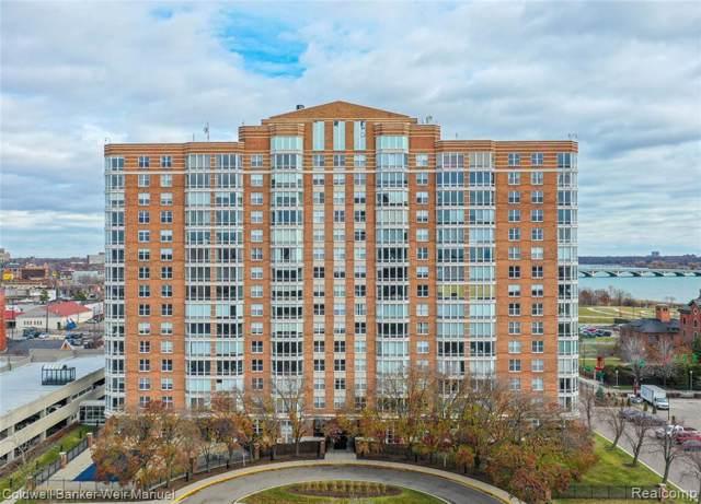 250 E Harbortown Drive #606, Detroit, MI 48207 (#219120788) :: The Buckley Jolley Real Estate Team