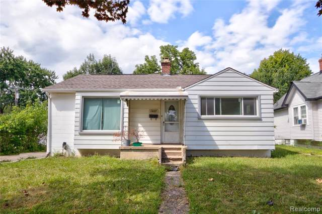 1457 Spencer Street, Ferndale, MI 48220 (#219120794) :: Springview Realty