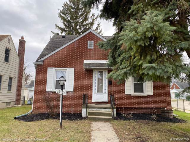 24171 Chicago Street, Dearborn, MI 48124 (#219120803) :: The Buckley Jolley Real Estate Team
