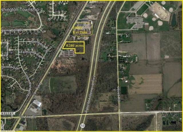 61910 Van Dyke *Vacant Land*, Washington Twp, MI 48094 (#58050001430) :: The Mulvihill Group