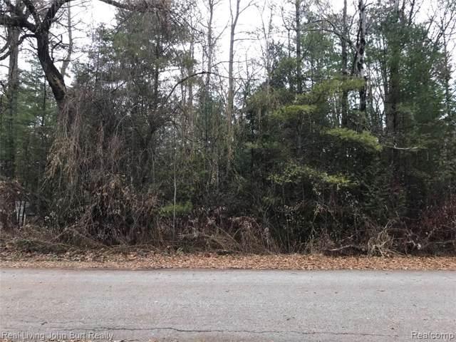 Lot 644 S Evergreen Drive, Greenbush Twp, MI 48738 (#219120857) :: Keller Williams West Bloomfield