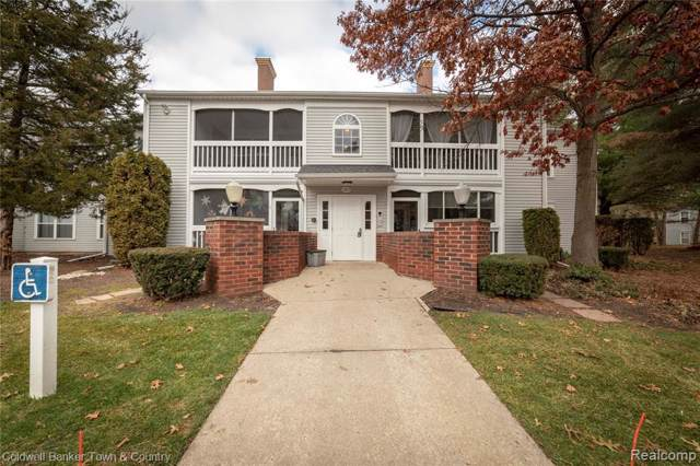 1217 Curzon Court #103, Howell, MI 48843 (#219121042) :: The Mulvihill Group