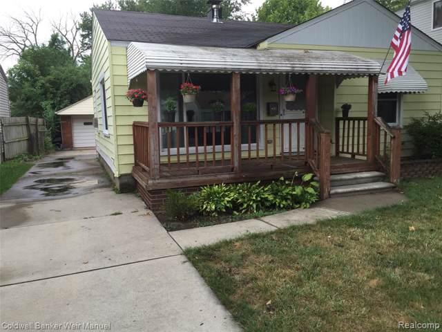 23441 Hazelwood Avenue, Hazel Park, MI 48030 (#219121115) :: GK Real Estate Team