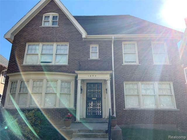 1695 W Boston Boulevard W, Detroit, MI 48206 (#219121122) :: GK Real Estate Team