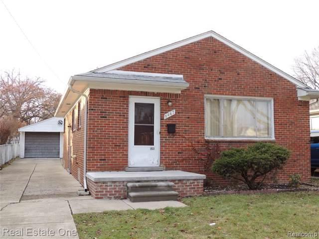 8467 Nightingale Street, Dearborn Heights, MI 48127 (#219121123) :: GK Real Estate Team