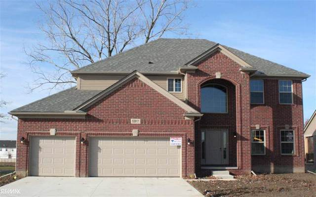 53917 Connor Drive, Chesterfield Twp, MI 48051 (#58050001516) :: The Mulvihill Group