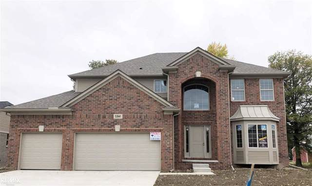 53941 Connor Drive, Chesterfield Twp, MI 48051 (#58050001520) :: The Mulvihill Group