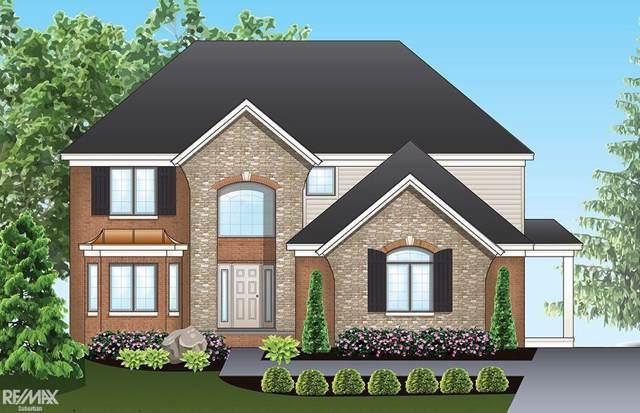 54743 Deadwood Lane, Shelby Twp, MI 48316 (#58050001555) :: Springview Realty