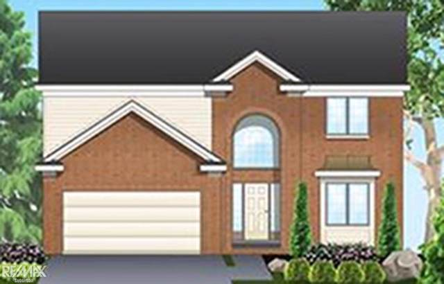 5746 Gregory, Shelby Twp, MI 48317 (#58050001560) :: Springview Realty